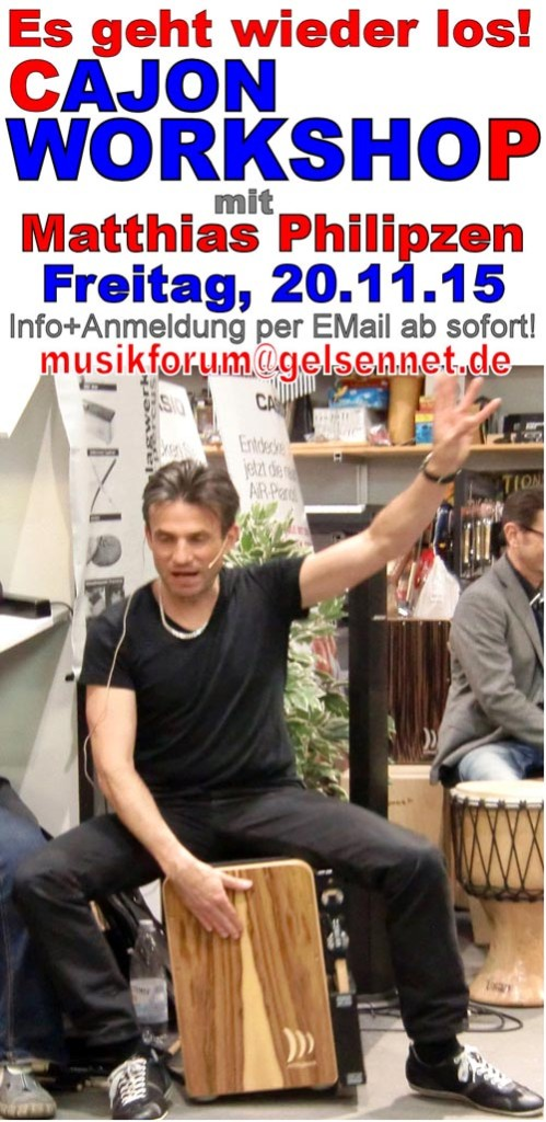 Musikforum_Bottrop_Cajon_Nov2015