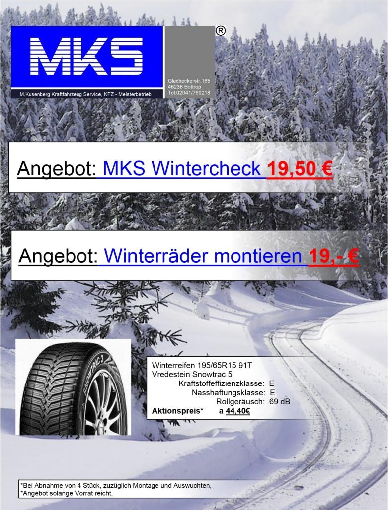 Wintercheck für APP2