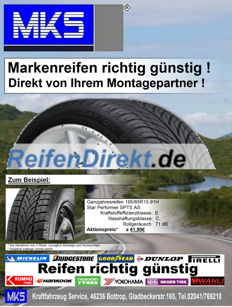 MKS und ReifenDirekt