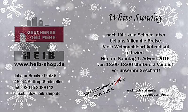 Werbung HEIB_White Sunday 2016_87,5x50