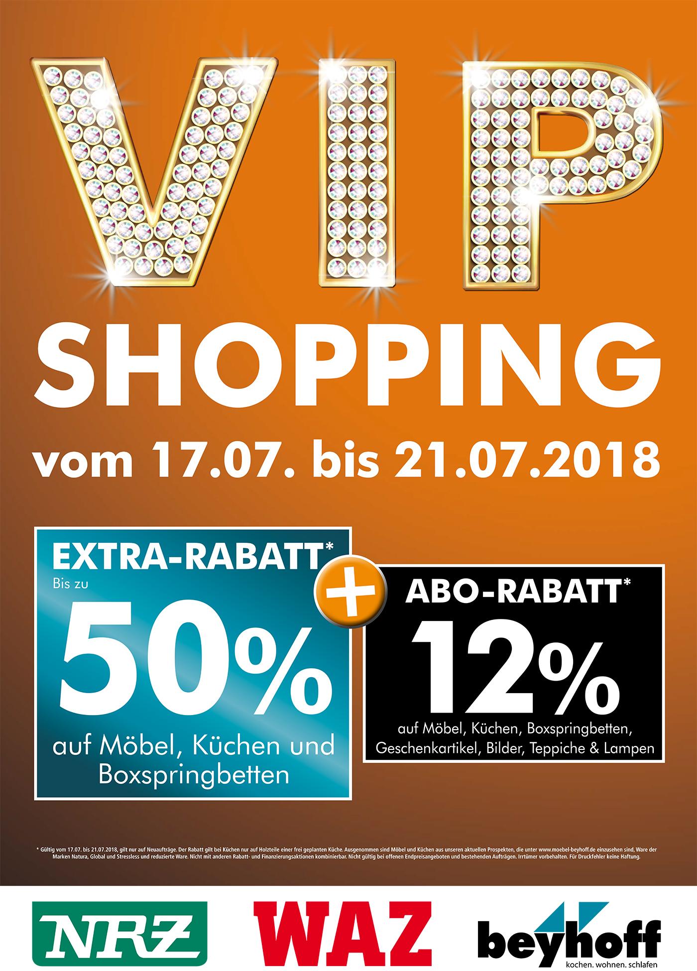 Vip Shopping Week Bei Möbel Beyhoff Vom 1707 21072018 Unser