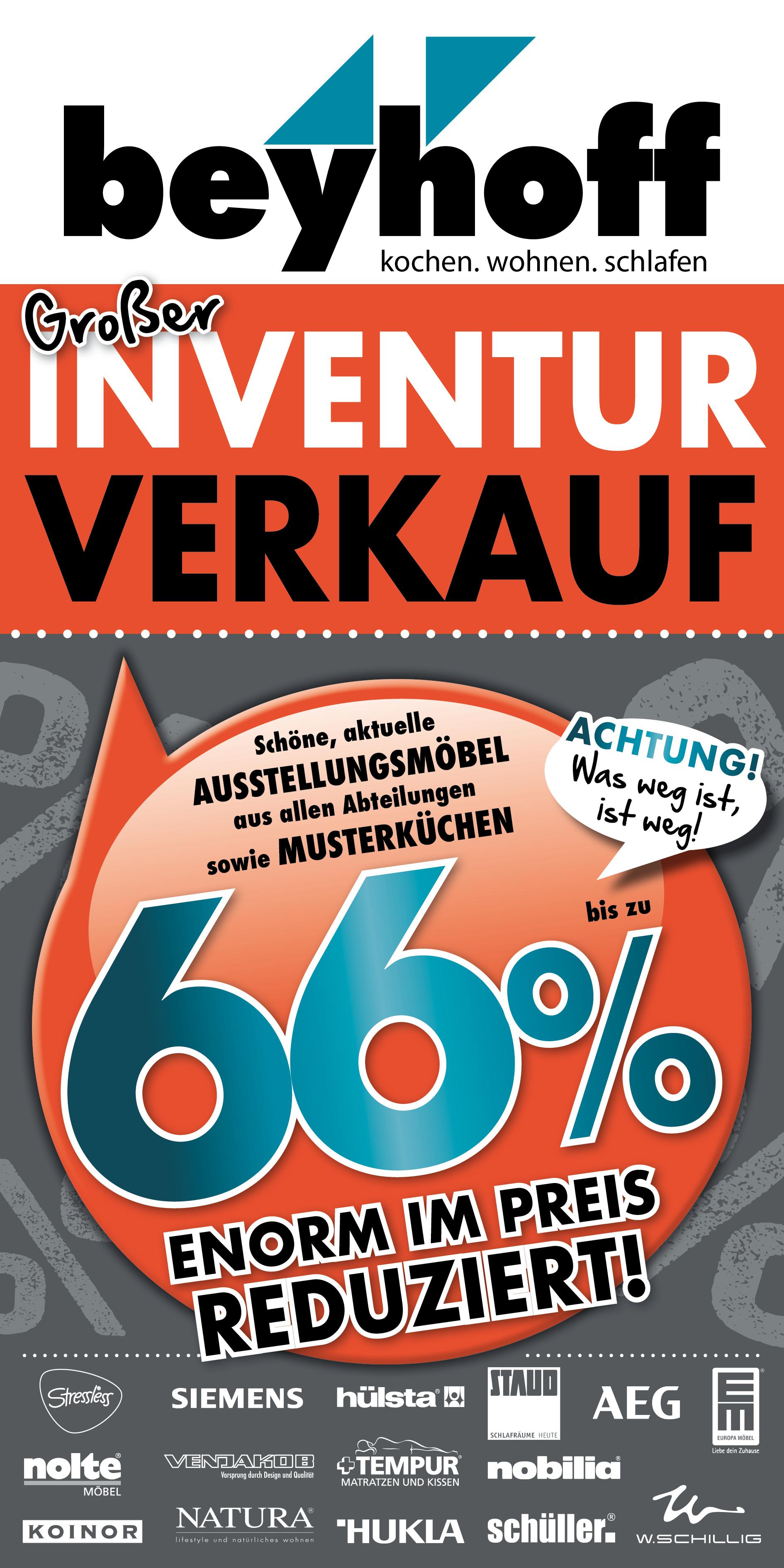 Großer Inventurverkauf Bei Möbel Beyhoff In Bottrop Unser Bottrop