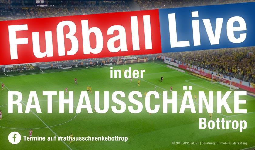 Ab Heute Abend Dfb Pokal Live In Der Rathausschanke Bottrop